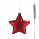LED glass star